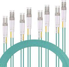 4 Paquete de fibra óptica LC A Lc Cable de conexión multimodo Duplex LSZH 1 metros/3.3ft