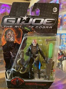 G.I.Joe Rise Of The Cobra 3.75 Cobra Commander Action Figure NEW
