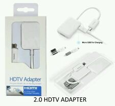 MHL to HDMI HDTV Adapter For Samsung Galaxy S5 S4 S3 Note 2 3 4