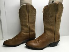 VTG WOMENS ARIAT COWBOY BROWN BOOTS SIZE 7.5 C