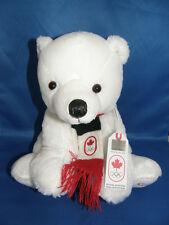 Canada OLYMPIC COLLECTION Polar Bear Plush Toy
