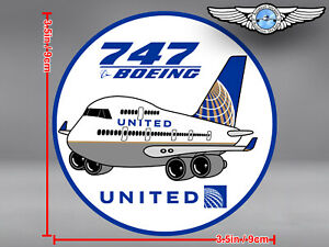 UNITED AIRLINES UAL PUDGY BOEING B747 B 747 DECAL / STICKER