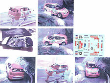 Decals 1/43e Honda Civic R Climent Principe de Asturias 2003