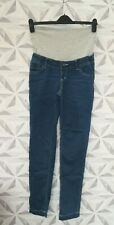 BNWT MAMA LICIOUS MATERNITY STRAIGHT LEG BLUE JEANS SIZE UK 10 - J2D
