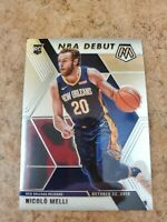 C34 2019-20 Panini Mosaic - Nicolo Melli - Rookie - NBA Debut Pelicans #279 (RC)