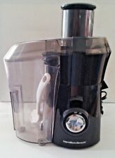 "Hamilton Beach ~67601A ~""Big Mouth"" Juice Extractor, Black,"