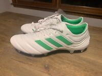 adidas Copa 19.1 SG Soft Ground Football Boots Mens White/Green Soccer Cleats 13