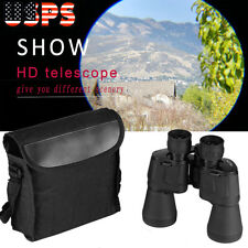 Day/Night 10X50 Military Army Zoom Ultra Hd 10Km Wide Angle Binoculars w/ Bag