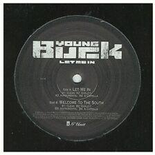 "Young Buck - Let Me In 12"" VINYL PROMO NEW 50 CENT THUG RAP GANGSTA  HIP HOP"
