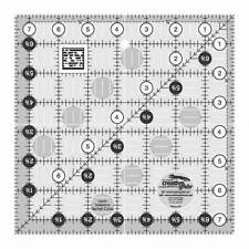 Creative Grids Quilt Ruler 7-1/2 inch Square, # CGR7 Quilt Quilting