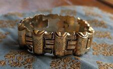 18kt  Antique Victorian Gold Link Bracelet circa 1850