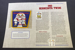 Willabee & Ward MLB Cooperstown 125 Year Collection 1965 Minnesota Twins Patch