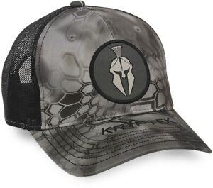 Kryptek® Raid and Black Embroidered Logo Cap