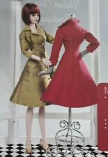 "Hybrid Style Coat Dress 16"" Urban Vita Doll SEWING PATTERN"