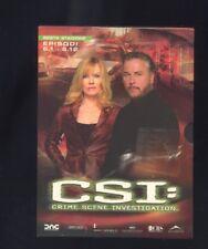 CSI Crime Scene Investigation 3 Dvd Stagione 6 - episodi 1 - 12 cofanetto  R