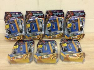 LOT OF 7 NEW MARVEL Guardians Of The Galaxy Star Lord Mini MP3 Player Boombox B5