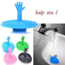 Washroom Hand geformte Stöpsel Wasser Rubber Waschbecken, Badewanne Stopper