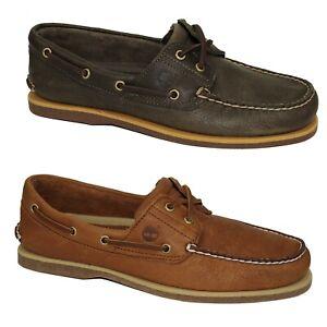 Timberland Classic Boat Shoes 2-Eye Deckschuhe Segelschuhe Herren Schuhe