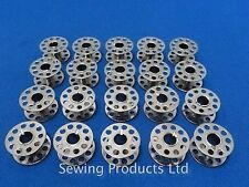 20 Metal High Quality Domestic Sewing Machine Bobbins WILL FIT, BROTHER,TOYOT...