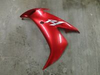 YAMAHA YZF R1 1000 5VY 04-06 - LEFT LOWER FAIRING BODY PANEL - EXCELLENT