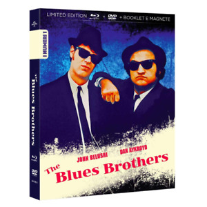 THE BLUES BROTHERS - Limited 1000 Copie Numerate (Blu-ray+Dvd+Booklet+Magnete)