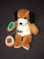 VTG MGA VR Digital Giga Pet Ta Ta Puppy Digi Beanie Dog Plush Digital 1997 Works