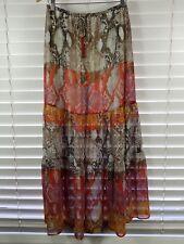 HALE BOB sz M (or 12 / 8 us ) womens Leonie Maxi print skirt [#4308]