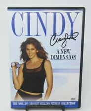 CINDY CRAWFORD: A NEW DIMENSION WORKOUT DVD, BACK, CARDIO, TOTAL BODY WORKOUTS
