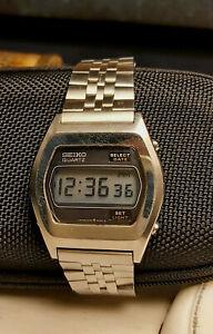Seiko digital watch 0432-4020 vintage