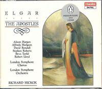 Edward Elgar The Apostles Op 49 CD NEW Richard Hickox LOndon Symphony Hargan