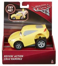 Rare Disney Pixar Cars 3 Revvin' Action Cruz Ramirez New in Box