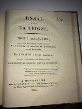 MÉDECINE. TEIGNE ( ESSAI SUR LA ) 1811