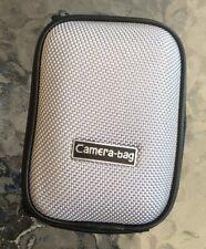 Universal Gray Digital Compact Camera Case - Hard Shell & Zip