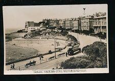 Somerset WESTON-SUPER-MARE Madeira Cove Tram Hotel Tralee advert RP PPC c1920s?