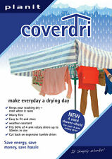 ROTARY WASHING LINE RAIN COVER FITS MOST 4 ARM DRIERS AIRERS EASY FIT  COVERDRI