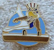 1984 LOS ANGELES OLYMPICS  Sam Olympic Eagle Pin MEN'S GYMNASTICS Pre-owned
