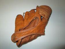 VINTAGE Franklin F107 Full Grain Wil-O-Tan Cowhide Baseball Glove