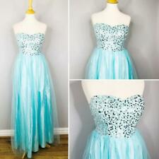 Ball gown Party Elsa Dress Size 10 Prom Dress Cruise Evening Dress