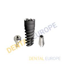 KIT 3 Pcs of Dental Implant, Dental Abutment, Dental Healing-cap With CE/ISO/FDA