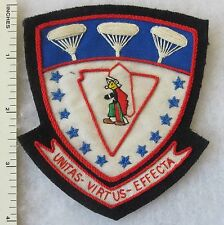 781st TROOP CARRIER SQUADRON US AIR FORCE PATCH Custom Sewn for USAF VETERANS
