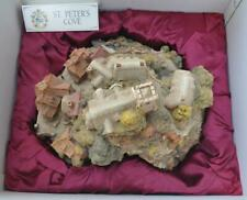 "HUGE BOXED LIMITED EDITION LILLIPUT LANE  "" ST PETERS COVE "" MODEL / ORNAMENT"
