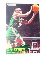 CARTE  NBA BASKET BALL 1995  PLAYER CARDS DEE BROWN (10)