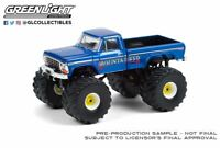 A.S.S NEU Ford F-250 West Virginia Mountaineer GreenLight 1/64 Kings of Crunch 9