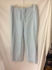 Old Navy Light Blue Casual Pants ~ Size 8 ~ Button Fly