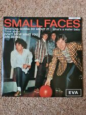 """Small Faces Whatcha Gonna Do About It. EVA 705M 7"""" Single Green Vinyl"""
