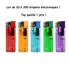 Lot De 20 à 200 Briquets Électroniques Rechargeables , TOP PROMO ! Envoi express