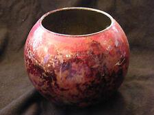 Vase Boule en Verre Laque Line N°2