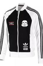 Adidas originals star wars stormtrooper track top sweat à capuche veste taille m-l-xl-xxl
