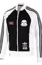 Adidas Originals Star Wars Stormtrooper Track de Superdry con capucha Chaqueta Talla M-L-XL-XXL
