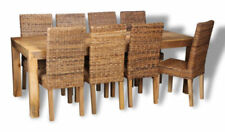 Up to 8 Seats Table & Chair Sets with 8 Pieces